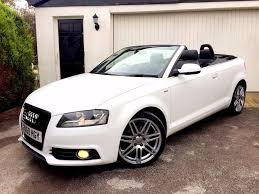 immaculate 2010 audi a3 s line 2 0 tdi ibis white convertible