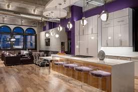 spacious looking modern kitchen island lighting