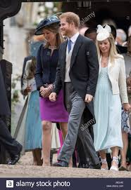 prince harry leaves following the wedding of pippa middleton and