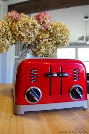 Small Red Kitchen Appliances - my favorite kitchen appliances and our new favorite drink