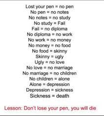 Pen Meme - dont lose your pen meme by reizor memedroid