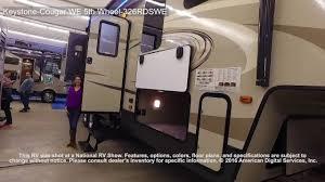 Keystone Cougar Fifth Wheel Floor Plans Keystone Cougar We 5th Wheel 326rdswe Youtube