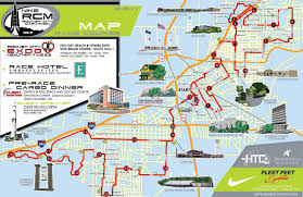 Boston Marathon Route Map by Rocket City Marathon Launches New Tourist Friendly Course For