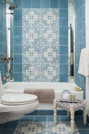 Moroccan Tile Bathroom 20 Hues For Bathrooms Hgtv Bald Hairstyles And Cement