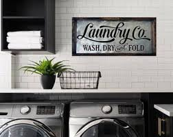 Laundry Room Signs Decor Laundry Room Signs Etsy