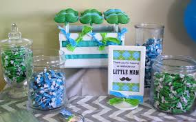 Baby Boy Shower Centerpieces by Baby Shower Decorations Little Man Baby Shower Diy