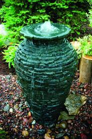 Aquascape Water Features Amazon Com Aquascape 98939 Small Stacked Slate Urn Fountain For