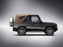 mercedes g class cabriolet goes out of production autoevolution