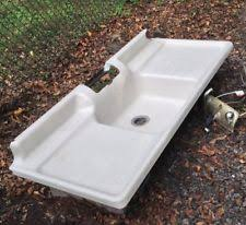 Old Kitchen Sink With Drainboard by Antique Farmhouse Sinks Ebay