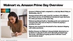 amazon pre black friday sale who else shespeaks online shopping consumer insights amazon prime day vs walm u2026