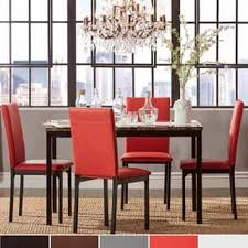 cheap red dining table and chairs size 5 piece sets kitchen dining room sets for less overstock com