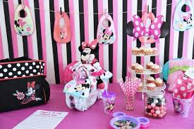 minnie mouse baby shower minnie mouse baby shower by disney baby halstead