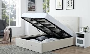 Fabric Ottoman Storage Storage Ottoman Bed Etechconsulting Co