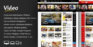 love themes video video news wordpress magazine newspaper theme newspaper