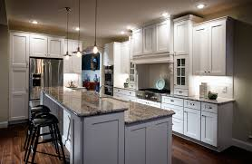 kitchens without islands concrete countertops white kitchen island with granite top