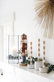 Minimalist Modern How To Style A Modern Holiday Mantel Coco Kelley Coco Kelley