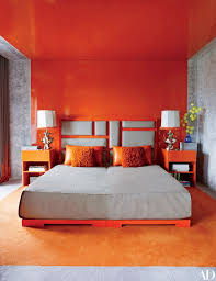 Best Colour My World Orange Images On Pinterest Colours - Bright colored bedrooms