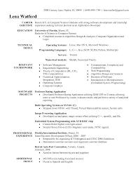 Graduate Internship Resume 100 Sample Internship Resume Format 100 Graphic Design