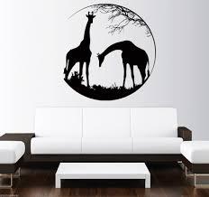 Nursery Wall Decals Animals by Online Get Cheap Cartoon African Animals Aliexpress Com Alibaba