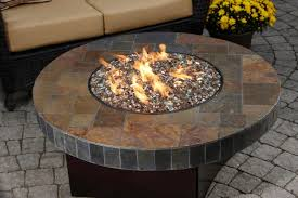 Outdoor Propane Gas Fireplace - gas fire coffee table propane fire pit table with lid outdoor