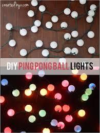 diy ping pong ball lights hometalk