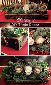 simple christmas table decorations diy christmas table decor idea diy home health