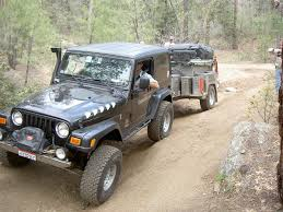 jeep utility trailer overland journal trailer comparison expedition portal