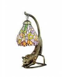 Mission Style Home Office Furniture by Tiffany Style Stained Glass Mission Desk Lamp The Green Head