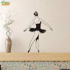 online buy wholesale modern graphic art from china modern graphic dctop ballet dancer wall decal dancing ballet vinyl wall decal graphic stickers for girl room dance