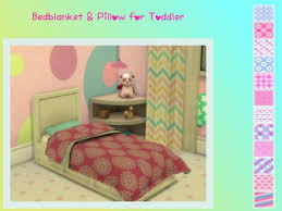 toddler bed blanket chillis sims blanket and pillow for toddler beds sims 4
