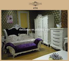 european style carving luxury beds queen size bed for 5 star hotel