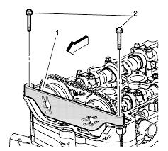 repair instructions off vehicle camshaft timing chain and