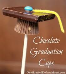 edible graduation caps learn how to make miniature edible graduation caps for a