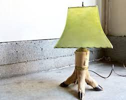 deer lamp etsy