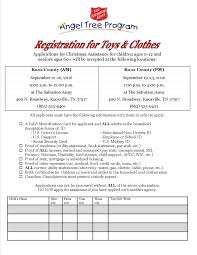 2016 angel tree registration faq the salvation army of knoxville