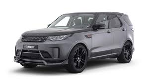 black land rover discovery 2017 startech makes 2017 land rover discovery 5 look sportier