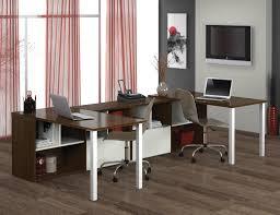 u shaped workstation desks bestar contempo double u shaped desk suite