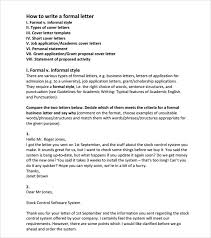 professional letter and email writing guidelines writing a letter