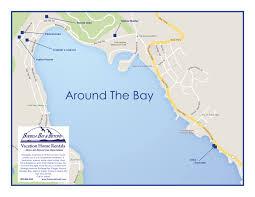 Bay Area Map Sonoma Coast Area Maps Sonoma Coast Rental Homes