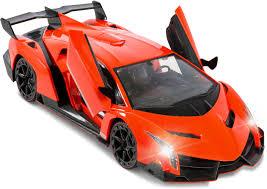 lamborghini veneno transformer flipzon rc lamborghini veneno style rechargeable car 1 14 with