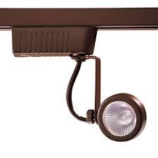 mr16 track lighting fixtures hton bay white dimmable led large cylinder track lighting fixture