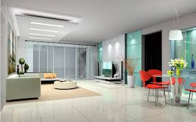 contemporary audio set facing couch on carpet and cool ceiling in