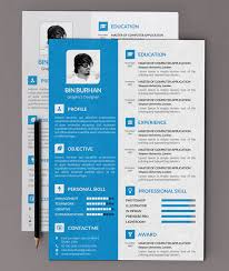 Design Resume Templates Free Astonishing Design Resume Templates Free Clever 40 Best 2017 Psd