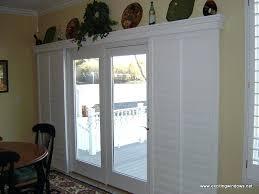 Patio Door Valance Sliding Door Treatments Glass Door Window Treatments Shutters