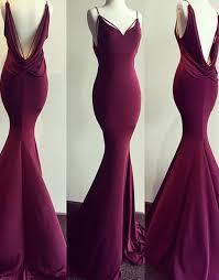 simple dresses simple burgundy mermaid prom dress burgundy evening dress