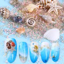 starfish decorations mini conch shells 3d nail decorations starfish sea