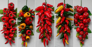 decorative chili pepper kitchen decor