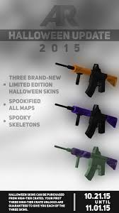 halloween crate halloween update and limited weapon skins apocalypserising