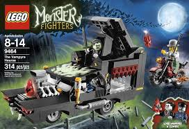 List Of Halloween Monsters by Amazon Com Lego Monster Fighters 9464 The Vampyre Hearse Toys