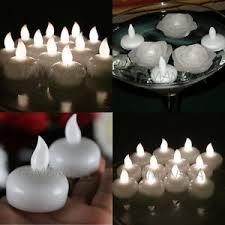 floating led tea lights wholesale warm white waterproof flameless floating led tea lights